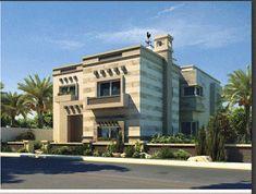 واجهات فيلات وعمارات سكنية كلاسيك | For Architects