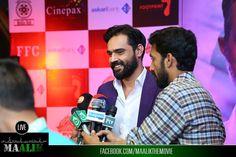 Hassan Niazi briefing media at the #MaalikTrailerLaunch #LiveUpdates #Maalik