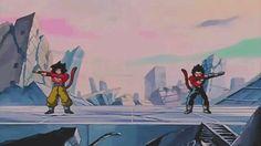SS4J Goku and SS4J Vegeta Fusion.