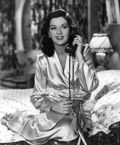 Rosalind Russell She was, hands down, the funniest, wittiest woman of her time. She could keep up, and even pass up, the men. Her voice and presence commanded attention. She was a fabulous actress.