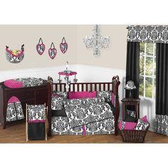 Found it at Wayfair - Isabella 9 Piece Crib Bedding Set
