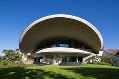 Bob Hope's Palm Springs Home by Architect John Lautner