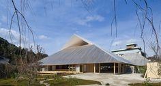 """Prize of AIJ for Design 2017 """"Naoshima  Hall"""",Sabuchi Hiroshi /Sambuichi Architects"""
