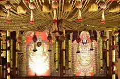 Setting for a Telugu wedding