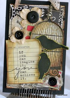 donna downey and unity stamp company - card created by unity design team member natalie dever