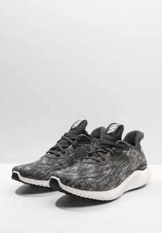 adidas Performance ALPHABOUNCE - chalk black/white/carbon