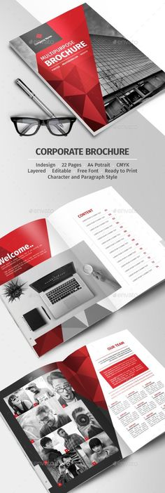 Get your professional flyers and brochures created here Company Profile Design Templates, Company Brochure Design, Booklet Design, Corporate Brochure Design, Brochure Layout, Business Brochure, Brochure Ideas, Editorial Design, Handout