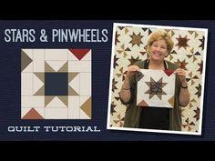 Pinwheel Tutorial, Pinwheel Quilt Pattern, Star Quilt Patterns, Block Patterns, Missouri Quilt Tutorials, Quilting Tutorials, Quilting Designs, Msqc Tutorials, Star Quilt Blocks