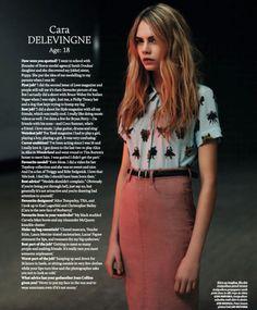 Cara Delevigne interview