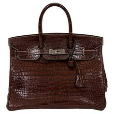 Check out this item at One Kings Lane! Hermès Birkin 35cm Porosus Crocodile