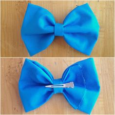 DIY Hair Bow Tutorial! Super easy and an easy way to spice up every outfit! LOVE #DIY #hairbows