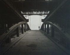 George Tice, Ferry Slip, jersey city, 1979
