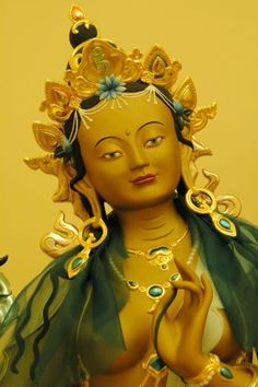 On entering the Eat Asia domain of Tibet and China, Buddhism acquired many female Buddhas such as Tara, and it just doesn't get much holier than this.