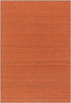Chandra Rugs Amela Jute Orange Rug