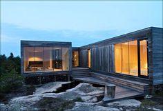 hus i lärkträ och glas - Sök på Google