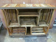 repurposed crates - Google Search