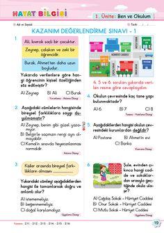2. Sınıf Soru Bankası Hayat Bilgisi Süper Kitap Journal, Books, Libros, Book, Book Illustrations, Journals, Libri