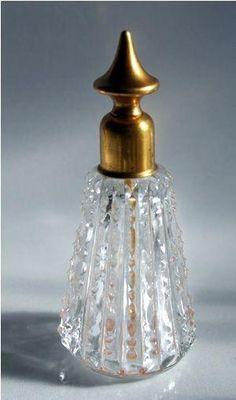 Vintage perfume bottle by cristina