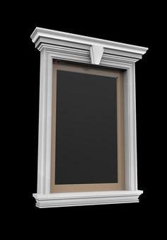 House Fence Design, Window Grill Design, Door Gate Design, Bungalow House Design, Facade Design, Exterior Design, House Pillars, Classic Window, Classic House Design