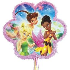 Tinkerbell and Friends Pull String Pinata (bestseller)