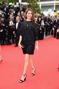 Pin for Later: Julianne Moore regiert auf dem Filmfestival in Cannes Sofia Coppola auf der Grace of Monaco-Premiere Sofia Coppola bei der Grace of Monaco-Premiere in Cannes.