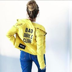 MAI PIÙ SENZA ... @martysmartyofficial for SHOP⭐️ ART ✔️ #badgirlsclub #shopart #jacket #color #shopartstyle #lacollezionepiucool #shopartmania