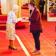 @theroyalfamily  Hi, it's Jacob here. I'm one of the 2016 @QueensYoungLeaders and I work with the LGBTI+ community in Australia.  Last night the Queen's Young Leaders met with Her Majesty The Queen to receive our Awards at Buckingham Palace. It was one of the most overwhelming yet gratifying experiences for so many of us. We are so incredibly grateful for what this programme has given us as well as the support provided by @theroyalfamily. It is now up to us as QYLs to deliver to provide…