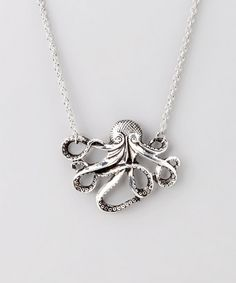Silver Octo Necklace from ZAD