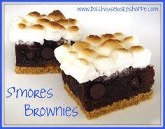 smores brownies!