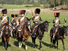 Chasseurs a cheval. Click on image to ENLARGE and double click to reduce.
