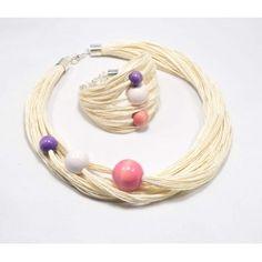 LEN i Biała Pastela Raj, Bracelets, Leather, Jewelry, Jewlery, Jewerly, Schmuck, Jewels, Jewelery