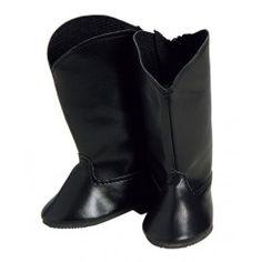 Adora Dolls Black Riding Boots