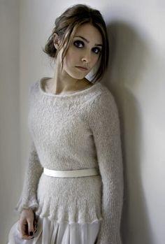 Kim Hargreaves Heartfelt Knitting Booklet Aislin-Sweater