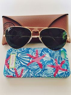 995ddd090d051 Ray Bans and Lilly Pulitzer phone case Cheap Ray Ban Sunglasses