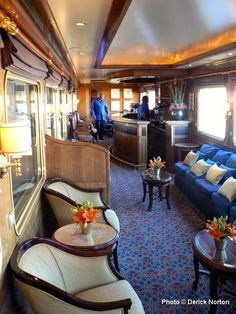 A Private Saloon..Travelling in Luxury