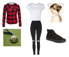 """School As A Winchester"" by non-timbeo-mala ❤ liked on Polyvore featuring Topshop, RE/DONE and Vans"