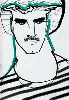 Mara Chevalier - Boys From The Hood Lucky Number, Art Inspo, Boys, Illustration, Artwork, Photography, Baby Boys, Work Of Art, Photograph