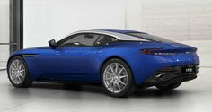 Aston Martin DB 11 - Cobalt Blue. I used the custom configuration on their website to build this dream car.  I will need to buy special clothing to drive this, as I dress more JEEP, VW Bus :-)