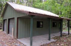 Great Pole Barn Garage Plans See More What Do You Think Of This Lester Building Systems LLC