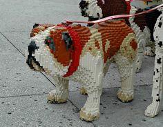 WOWSA!!! LEGO 'english bulldog'