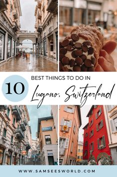 Things To Do, Good Things, Lugano, Europe Destinations, Central Europe, Switzerland, Places To Visit, Adventure, Mansions