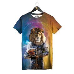 Space King T-shirt by Golden Hyena  #goldenhyena
