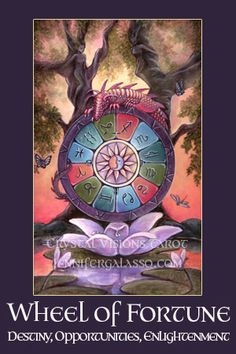 Crystal Visions Tarot Major Arcana
