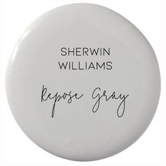 Why This Is The Only Gray Paint Color You'll Ever Need - Sherwin Williams Repose. Why This Is The Only Gray Paint Color You'll Ever Need – Sherwin Williams Repose Gray (neutral