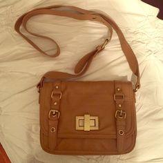 Francesca's collections Tan cross body purse Brand new. Tan crossbody bag. 3 slot interior. 1 small inside zip pocket. Francesca's Collections Bags Crossbody Bags