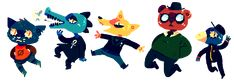 night in the woods fanart | Night In The Woods by afroclown on DeviantArt
