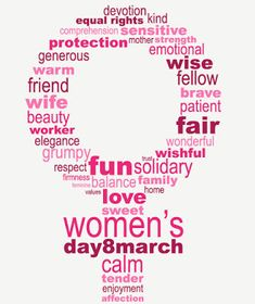 Women's day sayings 2021 Glad it's International Women's Day! What better approach to praise our most loved occasion than sharing the voices and photographs of ladies we are fortunate to know, appreciate, and bolster. Women's Day 8 March, 8th Of March, March Quotes, Women's Day Quotes, Qoutes, Happy Womens Day Quotes, International Womens Day Quotes, Happy Woman Day, Day Wishes