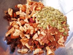 homemade fruit muesli bar recipe