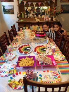 The spread with Mia and Azerra