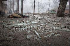 Via Laurent Brayard Massacre de civils par l'artillerie ukrainienne dans le#Donbass